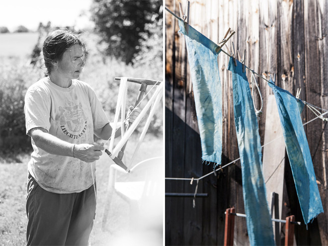 The Colors We Forgot We Had | Natural Wool Dyes from Vermont Gardens, Meadows, & Hedgerows - A Workshop at the Marshfield School of Weaving | Caroline Goddard Photography | Hope State Style