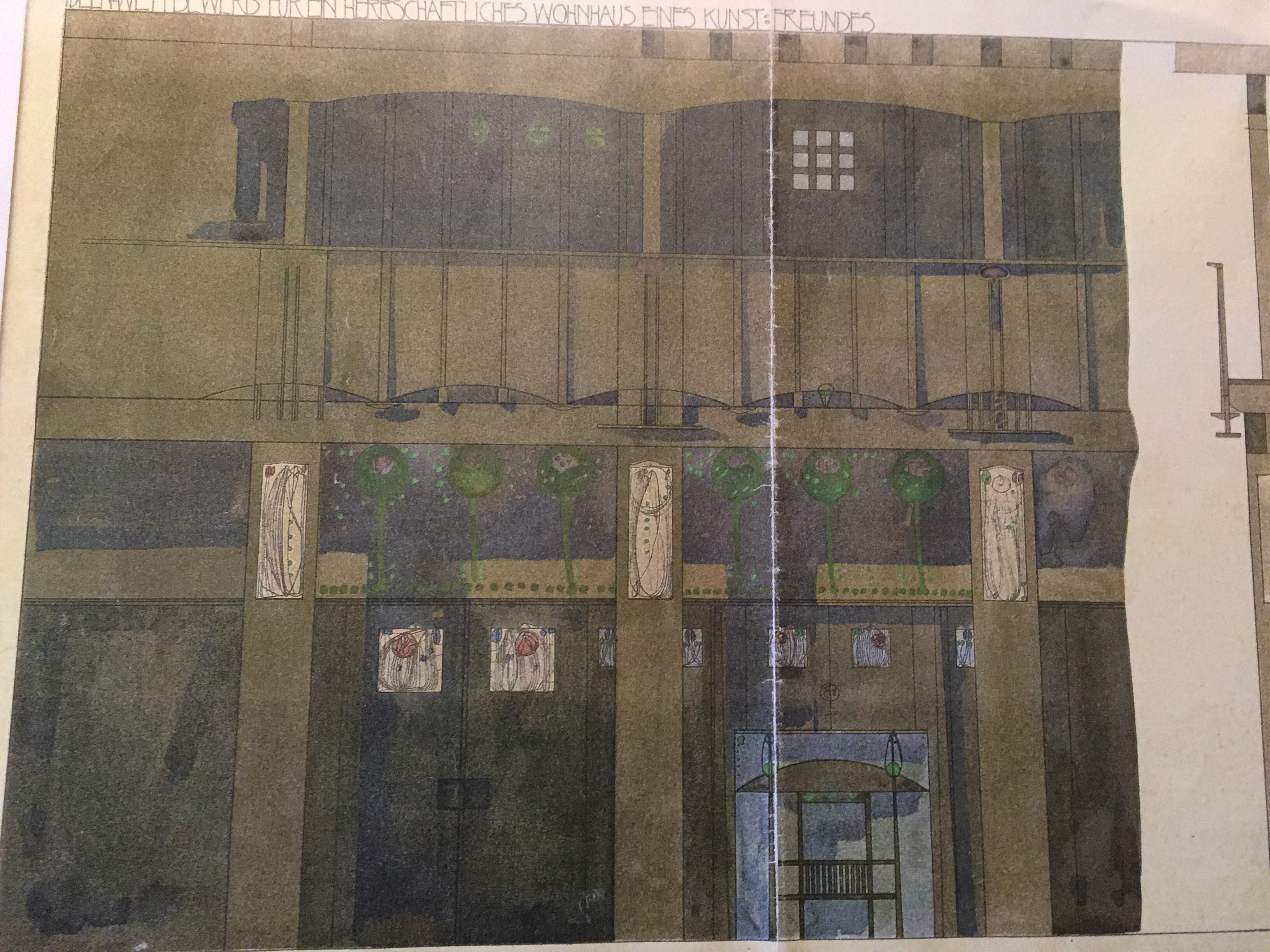 It Was Based Again On One Of The Glasgow Tea Rooms Designs This Time A  Scheme From The Argyle Street One Fully Documented In Mackintosh  Literature. 78 ...